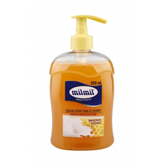 005910 cream soap milk & honey 500ml