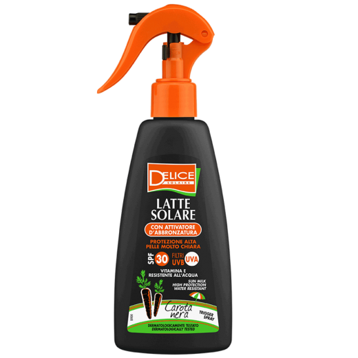 012060 black carrot sun milk spray SPF 30 200ml